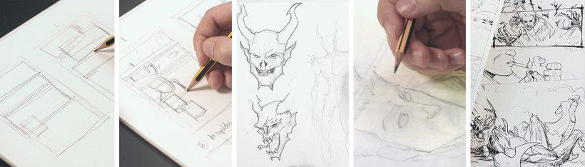 Pencil Drawing For Superhero Comics Salva Espin Online Course Domestika