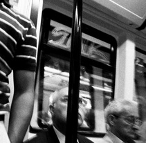 En el metro. A Photograph project by Rafael  Ricoy Olariaga - Jun 18 2009 10:27 PM
