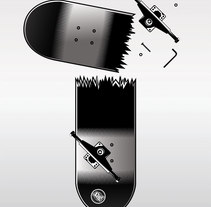 Uno Skateboard Magazine. A Design&Illustration project by Sergio Jiménez - 09-07-2009