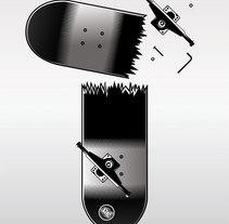 Uno Skateboard Magazine. A Design&Illustration project by Sergio Jiménez - Jul 09 2009 10:19 AM