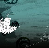 Castillo de Marbel (cuento infantil). Un proyecto de Diseño e Ilustración de Anxo Fariña - Miércoles, 22 de julio de 2009 18:40:43 +0200