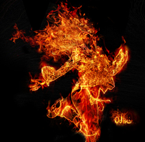 Fire girl. A Design project by Alberto Rosa  - 23-07-2009