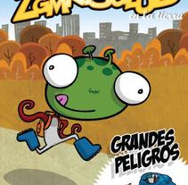 Aprendiendo buenas posturas. A Illustration, Film, Video, TV, and Advertising project by Elena Dalmau Castro - Oct 05 2009 12:10 PM