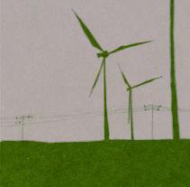 Tarjetas (A vista de parque). Un proyecto de Diseño e Ilustración de Virginia Pedrero - 08-09-2009