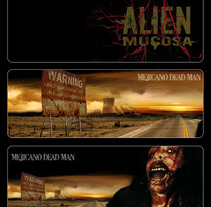Alien Mucosa. A Music, Audio, Installations, Design, Motion Graphics, Illustration, UI / UX, 3D, Advertising, Film, Video, TV, and Photograph project by M Dead Man - Sep 13 2009 02:43 PM