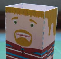 Kren_vCard_3D. Un proyecto de Diseño e Ilustración de Rubén Galgo - 14.09.2009