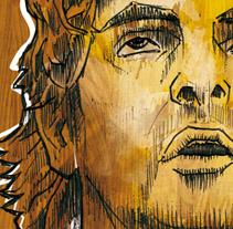 Pau Gasol free work. Un proyecto de Ilustración, Publicidad y UI / UX de Xavier Gironès - 05-10-2009