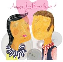 Amor festivalero. Un proyecto de Ilustración e Ilustración de vanessa  santos - Miércoles, 07 de octubre de 2009 15:03:04 +0200