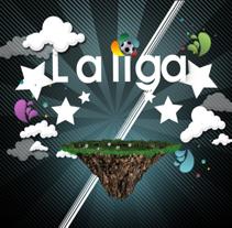 La Liga. A Motion Graphics project by Antonio Amián - Nov 07 2009 07:07 PM