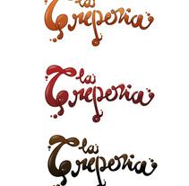 La Creperia. Un proyecto de Diseño e Ilustración de Cubik  - 15-11-2009