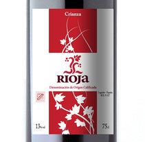 etiqueta Rioja. Un proyecto de Diseño y Publicidad de Pedro Antonio Castillo - 25-11-2009