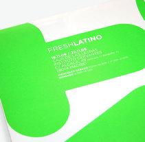 FRESHLATINO. Un proyecto de Diseño de Juanjo Justicia Peláez  - 27-11-2009