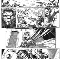 Caged historia corta. A Illustration project by Tomás Morón Aranda - 30-11-2009
