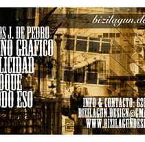 Tarjeta. Un proyecto de Diseño y Publicidad de Carlos J. de Pedro - 19-01-2010