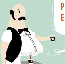 Prensa | Cafeblanc Vending. A Design, Illustration, and Advertising project by Joan Pérez - 19-01-2010