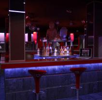 Pub Zen. A 3D project by Diego Moreno - 21-01-2010