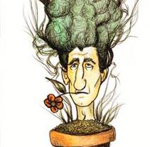 Plantados en mi cabeza. A  project by Pachi Santiago  - 25-01-2010
