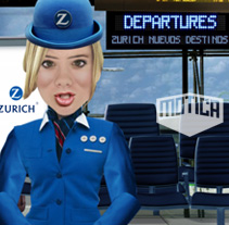 Zurich Invest_2007. A Design, Advertising, Motion Graphics, Film, Video, and TV project by Motion team - 02-02-2010