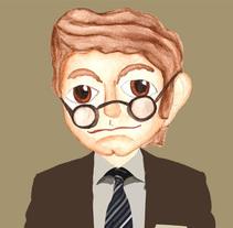 Portraits. Un proyecto de Ilustración de Áurea Nogués         - 11.02.2010