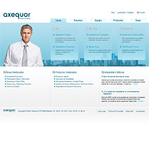 Web Axequor. A Design, and Software Development project by seven  - 12-02-2010