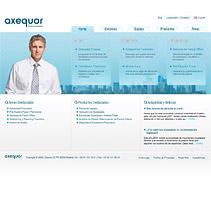 Web Axequor. Un proyecto de Diseño y Desarrollo de software de seven  - Viernes, 12 de febrero de 2010 14:57:09 +0100