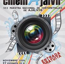 Concepto Gráfico - VII Muestra Nacional de Cortometrajes de Ajalvir 09. A Design, Film, Video, and TV project by tad zius - Feb 19 2010 03:01 AM