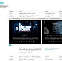 Cuac.es Agencia Interactiva. Um projeto de Design e Desenvolvimento de software de Carlos González         - 08.03.2010