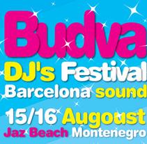 Budva Dj's festival. Um projeto de Design de Jordi Lagunas         - 22.03.2010