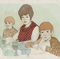 Retrato de Familia. Un proyecto de Ilustración de anne - 21-04-2010