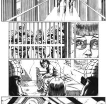 Caged pagina 6. Un proyecto de Ilustración de Tomás Morón Aranda - Sábado, 10 de abril de 2010 08:23:31 +0200