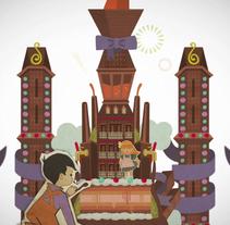 Chocolate de Inés Figaredo. Un proyecto de Diseño, Motion Graphics e Ilustración de RD2Graphics& Communication - Lunes, 03 de mayo de 2010 12:22:00 +0200