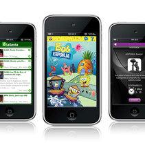 móvil . Un proyecto de Diseño, Ilustración, Publicidad, UI / UX e Informática de luis C García         - 06.05.2010