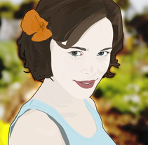 Vectorizando 9, Rachel McAdams. A Illustration project by Josep Viciana - May 17 2010 05:31 PM