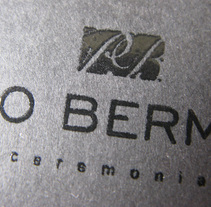 Paco Bermejo. A Design project by Roselino López Ruiz - 28-05-2010