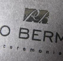 Paco Bermejo. A Design project by Roselino López Ruiz - May 28 2010 04:01 PM