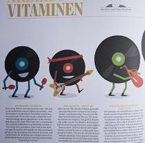 Arbeids Vitaminen. Un proyecto de Ilustración de Javier Arce - Sábado, 29 de mayo de 2010 13:40:15 +0200