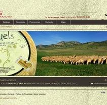 Gómez Moreno - Tienda on line desarrollada para empresa de quesos . Un proyecto de Diseño y Diseño Web de Color Vivo Internet  - 02-06-2010