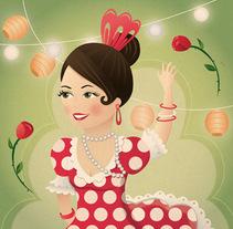 Diseño de postales. Un proyecto de Ilustración de Natalia Rey - Miércoles, 16 de junio de 2010 10:42:51 +0200