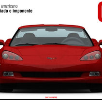 Chevrolet Corvette. A Design, UI / UX, and Advertising project by Abraham Gonzalez - Jun 26 2010 12:40 PM