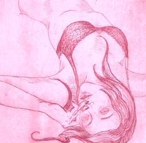 Triste y caliente: grabados para poemas de Berta García Faet. Un proyecto de Ilustración de Yelena Sayko         - 28.08.2010