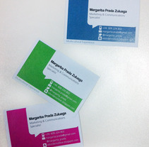 BusinessCards MPZ. Un proyecto de Diseño de ingrid albarracín - Viernes, 16 de marzo de 2012 08:46:18 +0100