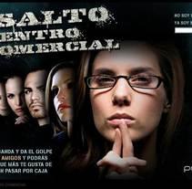 campaña captación. Minisite. A Advertising project by Massimiliano Seminara - 07-09-2010