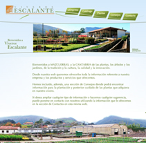 web Viveros Escalante. A Design, and Software Development project by AlenLoop - Sep 08 2010 05:28 PM