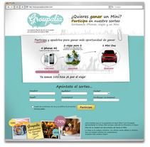 sorteo groupalia. Un proyecto de Publicidad de Massimiliano Seminara - Jueves, 09 de septiembre de 2010 11:28:04 +0200