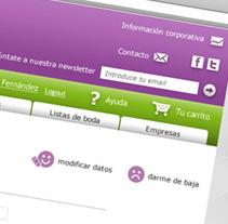 Jota, tienda online.. Un proyecto de Diseño y UI / UX de Javier González - Lunes, 13 de septiembre de 2010 17:12:12 +0200