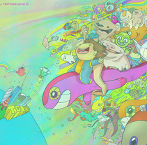 My Dream. A Illustration project by Herbie Cans - Oct 18 2010 12:00 AM