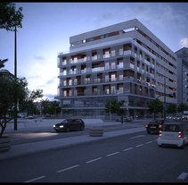 Edificio Viapol en Sevilla. A Design, Illustration, Advertising, and 3D project by Sem Casas Humanes         - 25.10.2010