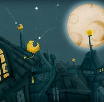 EL MENSAJERO DE LAS ESTRELLAS. Un proyecto de Ilustración de Cristina Quiles - Jueves, 28 de octubre de 2010 18:52:15 +0200