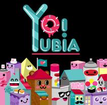 Yubia. Un proyecto de Diseño e Ilustración de Nuria Serrano         - 18.11.2010