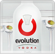 Evolution® Vodka. A Design, Illustration, Advertising, and UI / UX project by Alexandre Martin Villacastin - 24-11-2010
